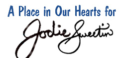 A page of Honor for Jodie Sweetin
